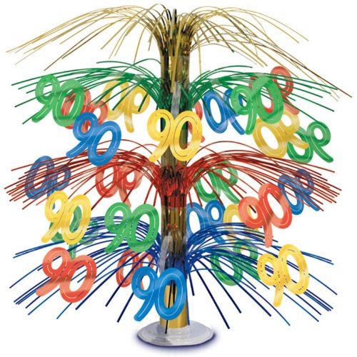90 Cascade Centerpiece (multi-color) Party Accessory  (1 count) (1/Pkg)]()
