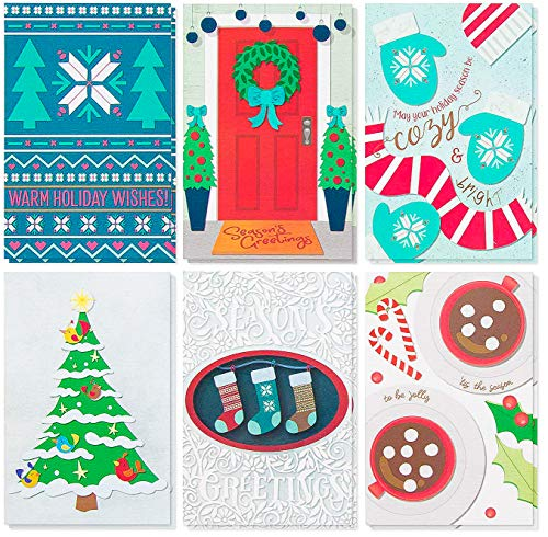 48 Pack Christmas Card Bulk Box product image