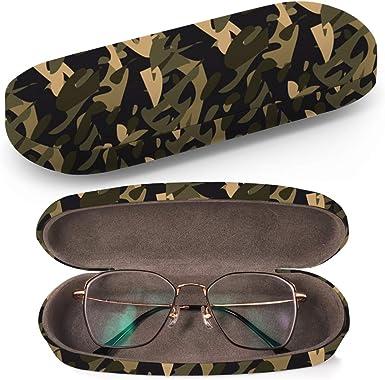 Art-Strap Funda rígida para gafas, estuche para gafas de sol, caja de plástico con paño de limpieza (camuflaje): Amazon.es: Ropa y accesorios