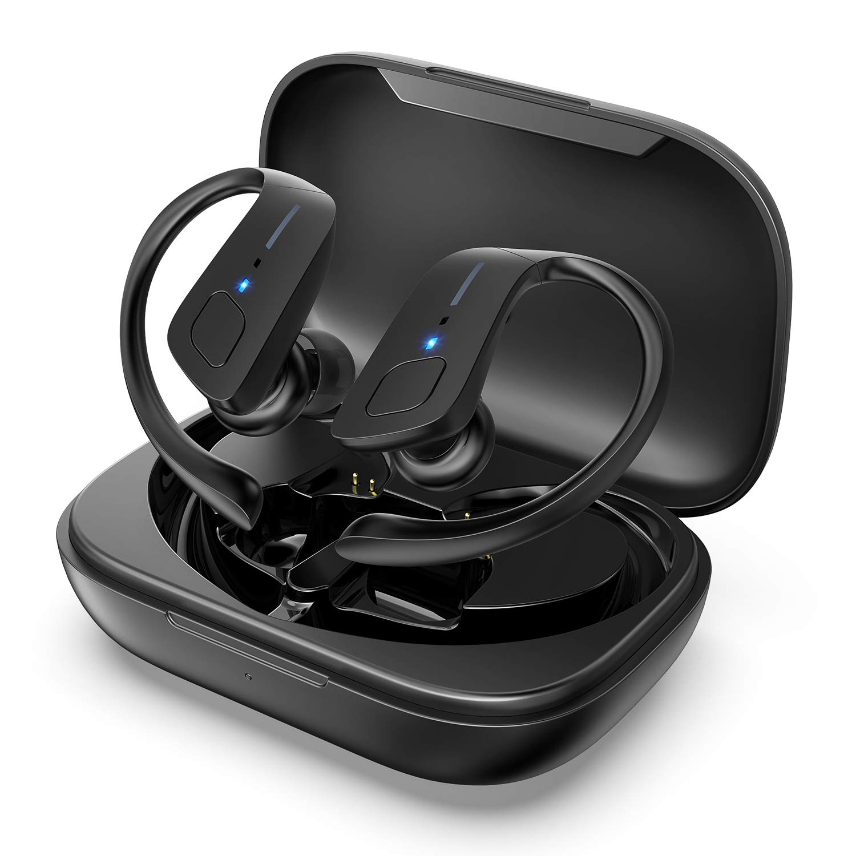 HolyHigh Auricular Bluetooth 5.0 Casco Inalámbrico Monaural Mini ...