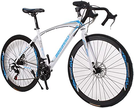 HUINI HOME Bicicleta de Carretera 700C 21-Velocidad Bicicleta ...