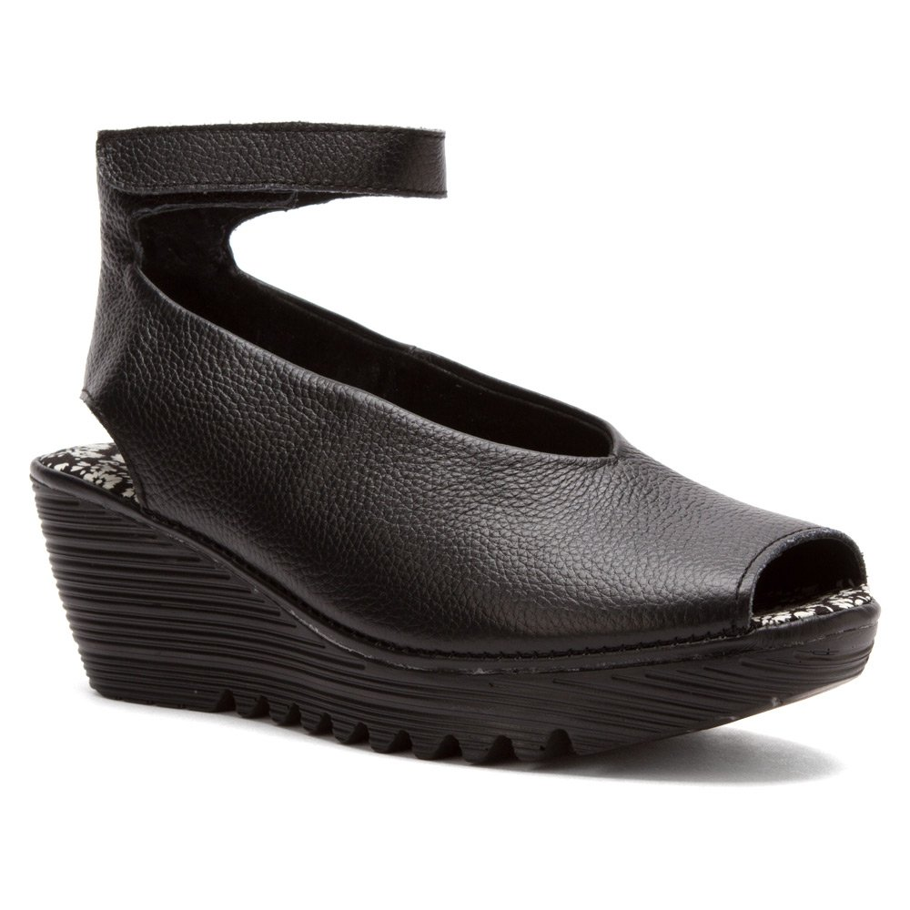 Bernie Mev Women's Mely Synthetic Casual Shoes Black 40