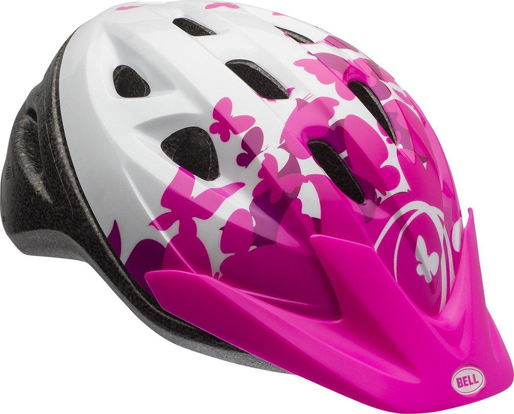 Bell 7073350 Rally Child Helmet, Pink/White Flutter