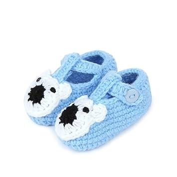 Newborn Warm Socks Unisex Baby Boy Girls Infant Cute Bear Crib Warm Shoes