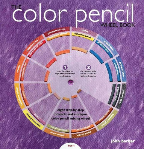 Color Pencil Wheel Book