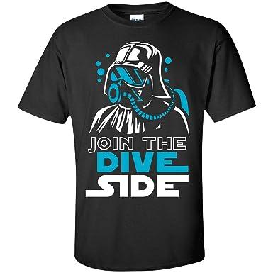 e4ddd7fc67 image 0 Source · Join The Dive Side Scuba Diving T Shirt Movie Puns Funny  Scuba