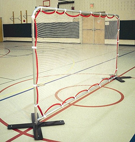 Soccer Training Rebounder in Silver Finish (7 ft. H x 18 ft. W Soccer Training Rebounder)