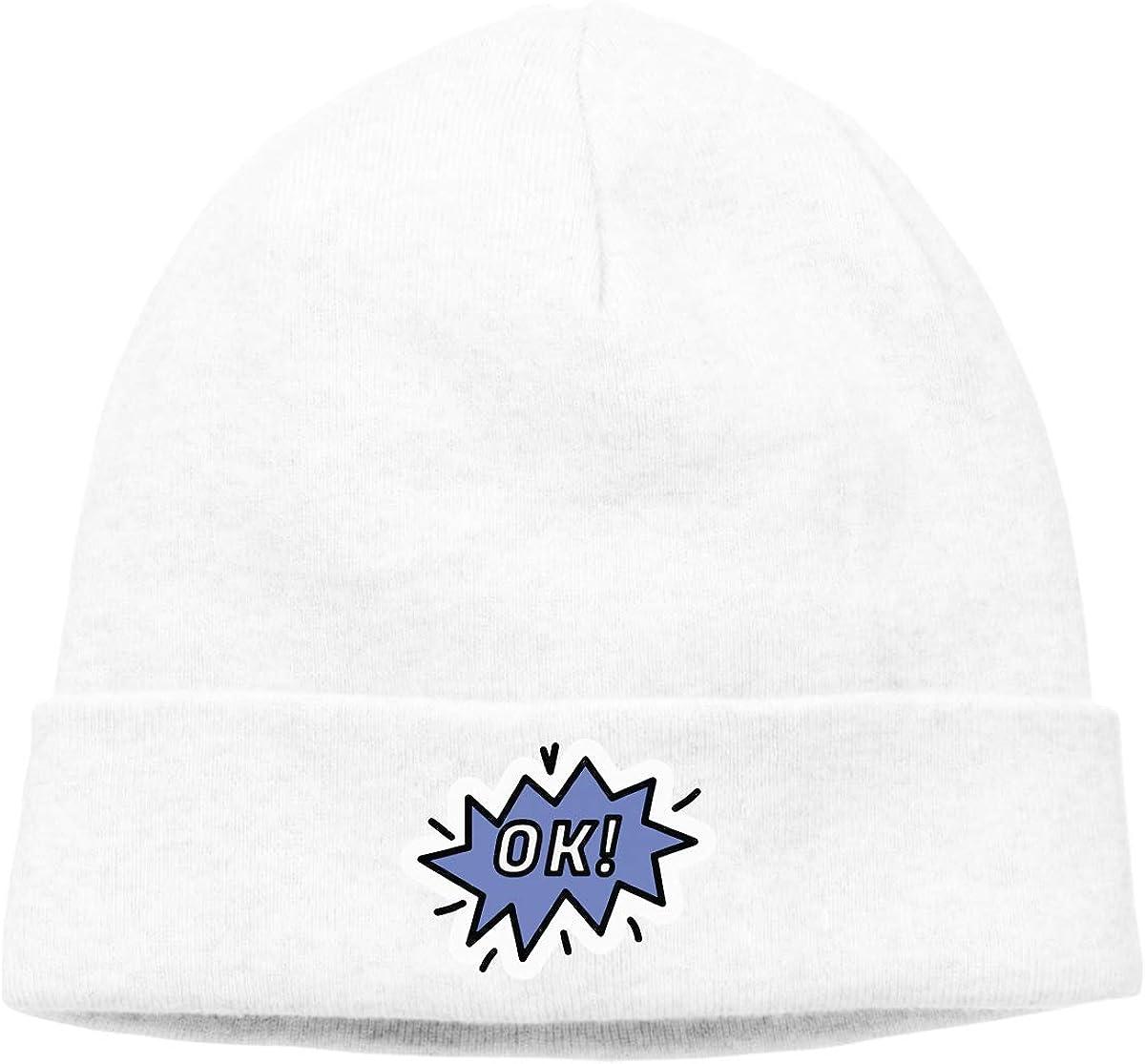 BBlooobow Mens/&Womens Ok Soft Skull Cap