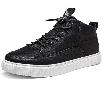 GLSHI Zapatillas Deportivas Ligeras para Hombre 2018 otoño, Zapatos Planos, Transpirables, Casuales, Zapatos de Patinaje: Amazon.es: Deportes y aire libre