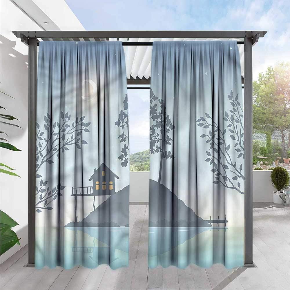 Marilds Nevada - Cortina para Puerta corredera, diseño de Bosque ...