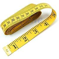 zuf/älliges Muster 1,5 m Sylvialuca Ma/ßband Mini Automatisch einziehbares Zentimeter- Zoll-Lineal Flexibles Lineal f/ür Bonbonfarben Ma/ßband