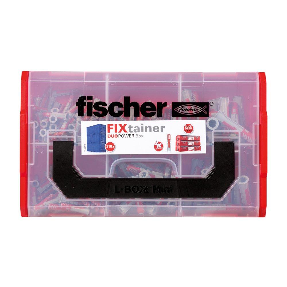 Die Duopower-dübel-box Dü duopower Dübel Fischer 536161 Fixtainer