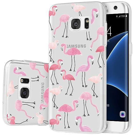 16 opinioni per Custodia Galaxy S7 Edge , ivencase Cover Silicone Trasparente TPU Flessibile