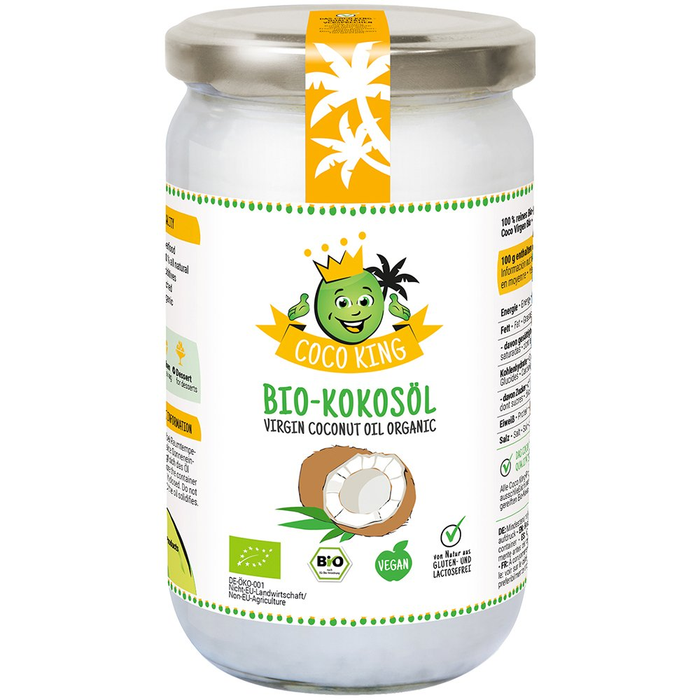 Coco King Bio-Kokosöl,1000 ml: Amazon.de: Lebensmittel & Getränke