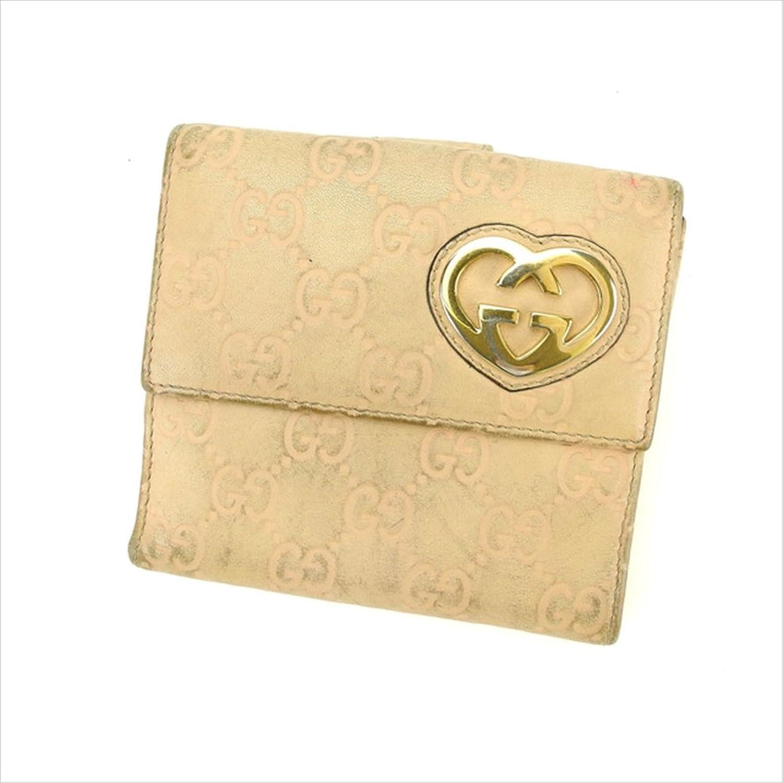 [グッチ] GUCCI Wホック財布 二つ折り財布 レディース 245727 [グッチ] シマ 中古 D1529 B01LWLLJZG