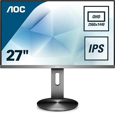 Aoc Q2790pqu Bt 68 Cm Monitor Schwarz Computer Zubehör