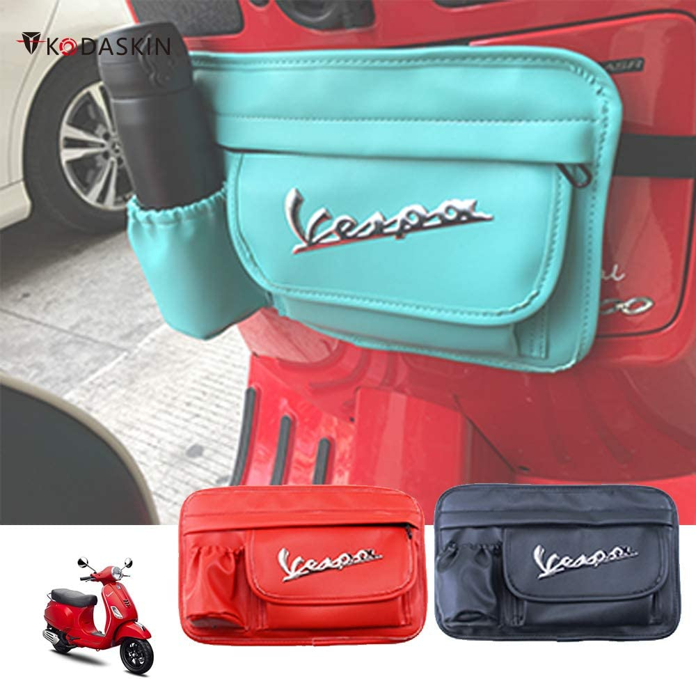 PRO-KODASKIN Glove Bags Storage Bag for Vespa GTS LX LXV Sprint Primavera 50 125 250 300 Vespa all Model-Blue