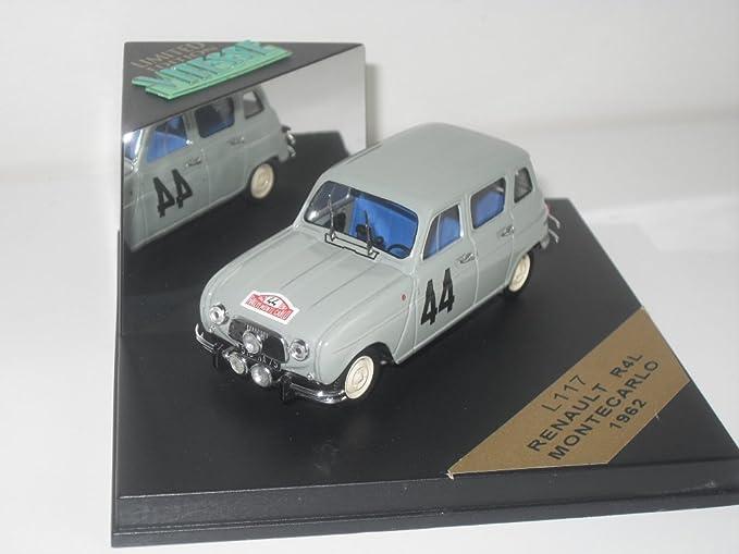 Vitesse Models 1/43 Scale Diecast L117 - Renault R4L - Monte Carlo 1962: Amazon.es: Juguetes y juegos