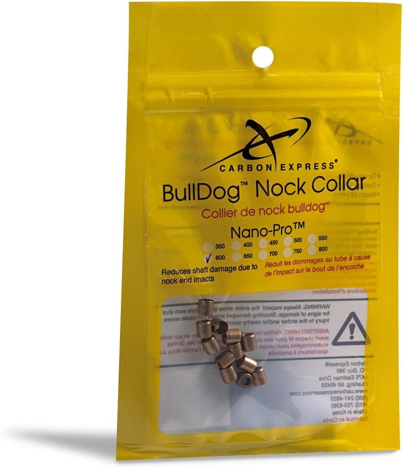 Carbon Express BullDog Collars Nano-Pro 650 12 Pack