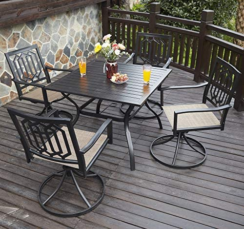 VICLLAX Outdoor Patio Dining Set