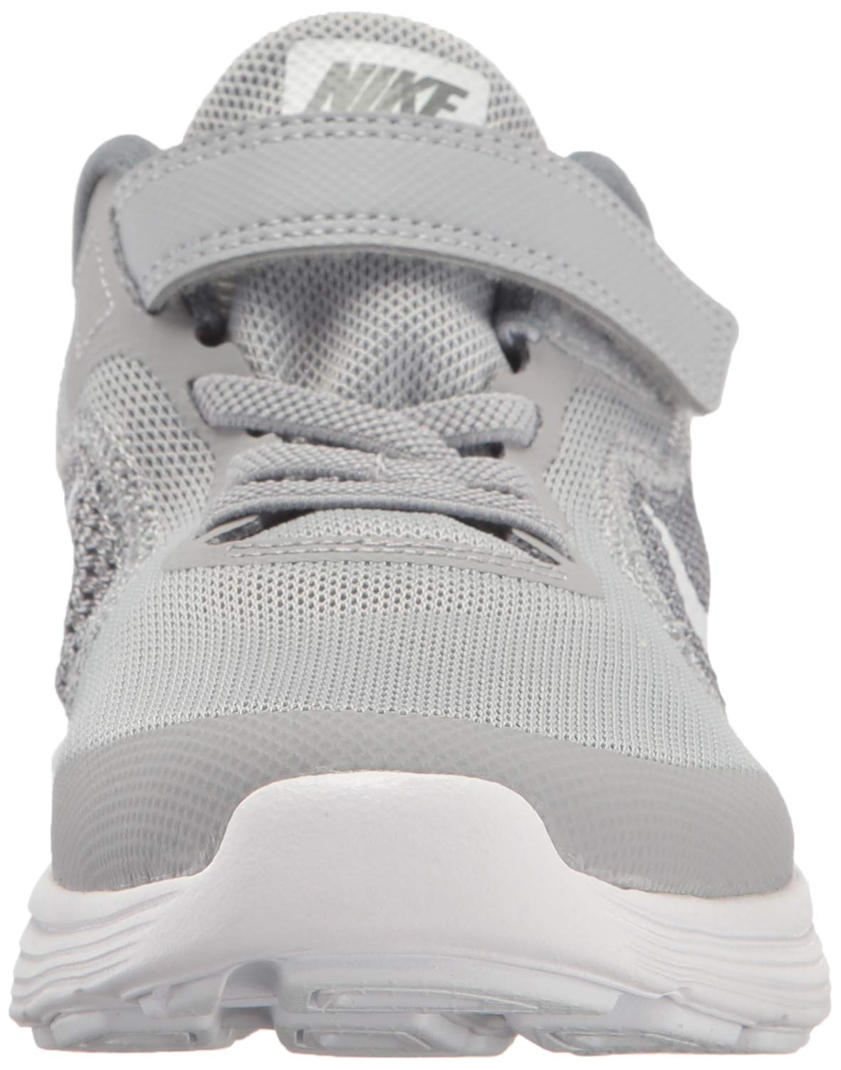 NIKE Kids' Revolution 3 (Psv) Running-Shoes, Wolf Grey/White/Cool Grey, 1 M US Little Kid by Nike (Image #4)