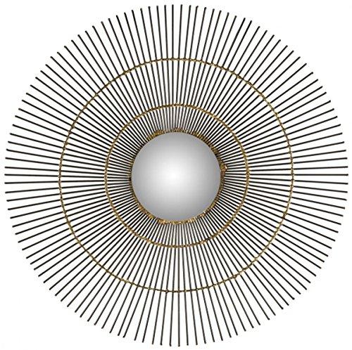 Safavieh Home Collection Orbit The Sun Mirror, Natural