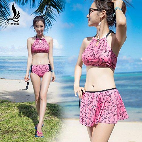 YUPE Hot spring Badeanzug Triangel Bikini mode Rock bademoden Frauen Strand