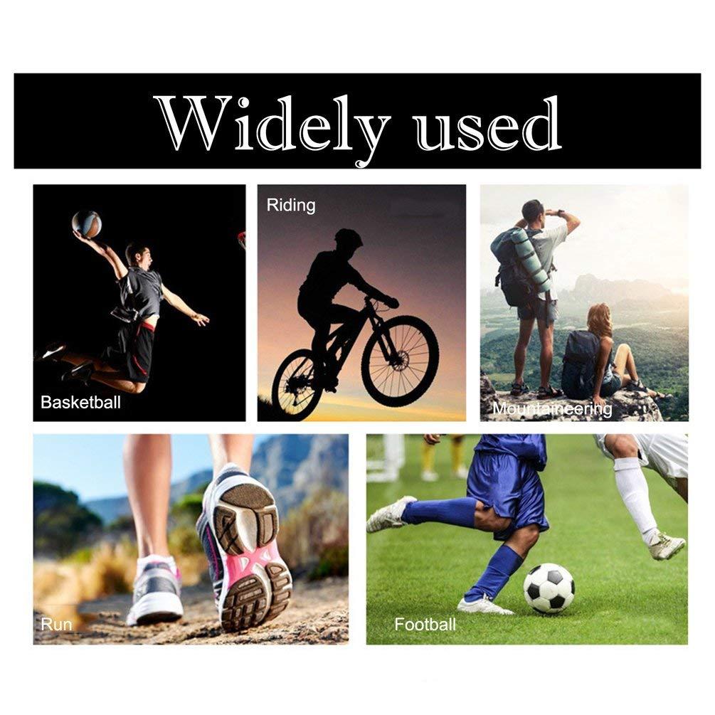 Amazon.com : Oyamihin 1 PC Basketball Football Leg Shin Guards Soccer Protective Calf Sleeves Cycling Running Fitness Calcetines Sports Kneepad - Red L ...