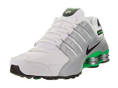 10abf2ddf24a2c ... real nike shox nz mens running shoes 378341 113 white 9.5 02b88 1d4dd