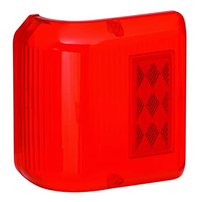 Bargman 34-86-711 Wrap Around Light #86 - Red Replacement Lens Only: Automotive [5Bkhe2013715]