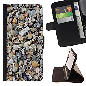 Jordan Colourful Shop - shore sand beach nature pattern For Apple Iphone 5C - Leather Case Absorci???¡¯???€????€?????????&