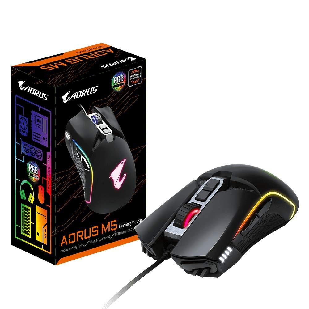Mouse Gamer :  Gigabyte Aorus Rgb 16000 Dpi Optical S (t59d)