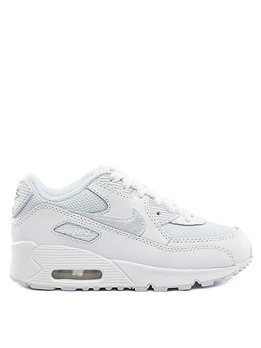 promo code de115 c6d23 Nike Air Max 90 Mesh White White Kids Trainers Kids 11 UK