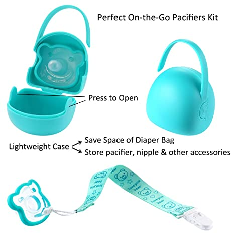 Amazon.com: VALUEDER - Kit de chupete infantil para niños y ...