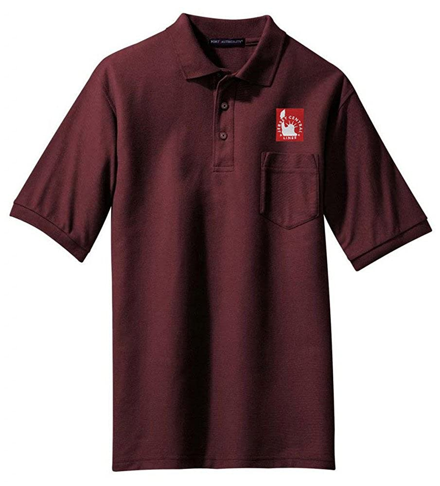 Jersey Central Railroad Embroidered Polo 49