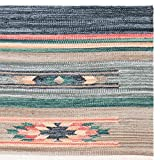 Safavieh Cotton Kilim Collection KLC301F Handmade