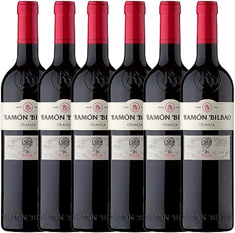 Ramón Bilbao Crianza - 6 botellas 750 ml: Amazon.es: Alimentación y bebidas