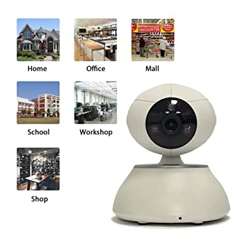 Cámara vigilancia wifi hd Camera de seguridad por ...