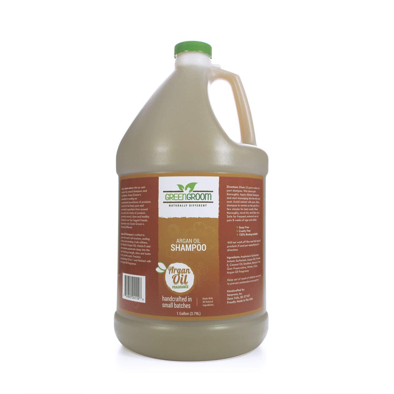 Green Groom Argan Oil Shampoo, 1 Gallon