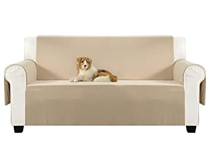 Aidear Anti Slip Sofa Slipcovers Jacquard Fabric Pet Dog Couch Covers  Protectors (Sofa: