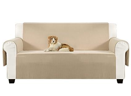 Aidear Anti Slip Sofa Slipcovers Jacquard Fabric Pet Dog Couch Covers  Protectors (Sofa: