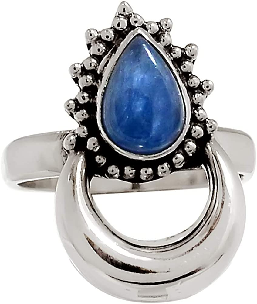 Xtremegems Kyanite 925 Sterling Silver Ring Jewelry Size 9 26688R