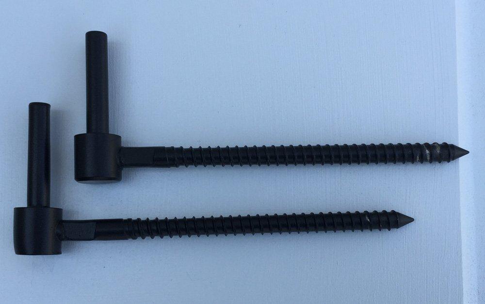 Stainless Steel 6'' Lag Pintle (1 Pair)
