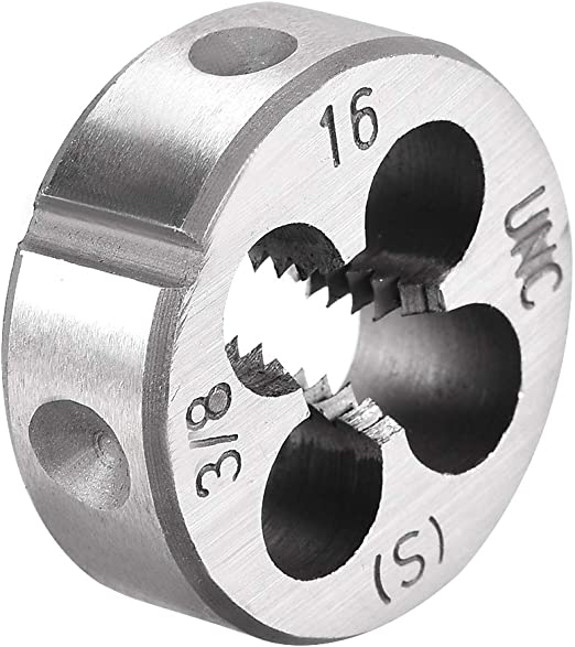 5//16-24 LEFT HAND Round Die High Speed Steel 1 Outside Diameter