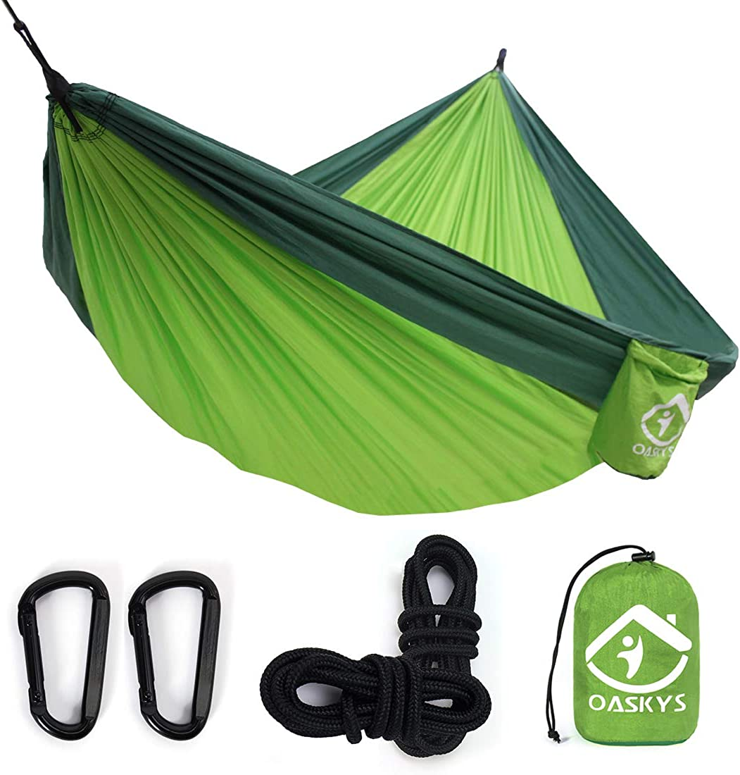 KingCamp Compact Camping Protable Hammock with Folding Wooden Spreader Bar Small Package