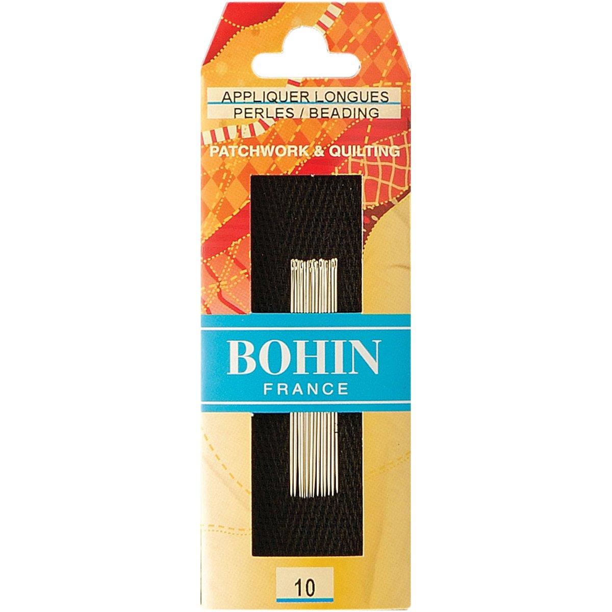 Bohin Bead/Applique Needles, Size 10, 15 Per Package Bohin (BOHI0) 624