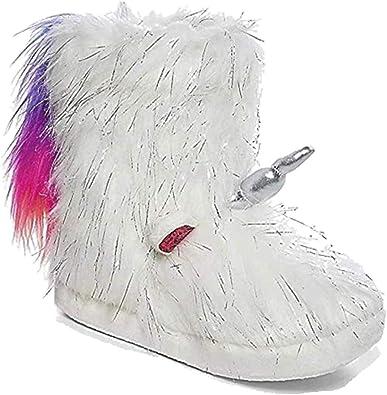 Justice Unicorn Rainbow Tail Slipper
