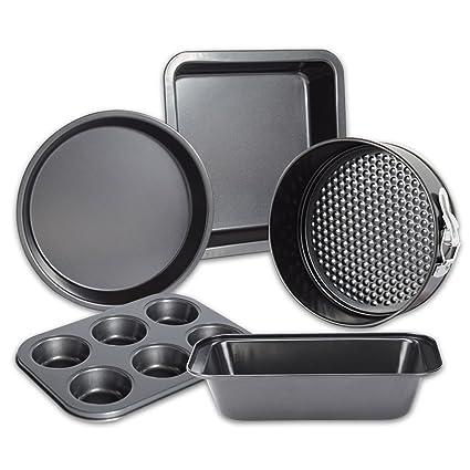 Amazon.com: OBR KING 5pcs Non-Stick Baking Pan Set for ...