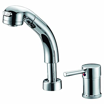 Umanyi Pull Out Faucet Bathroom Basin Faucets Toilet Sink Tap Single