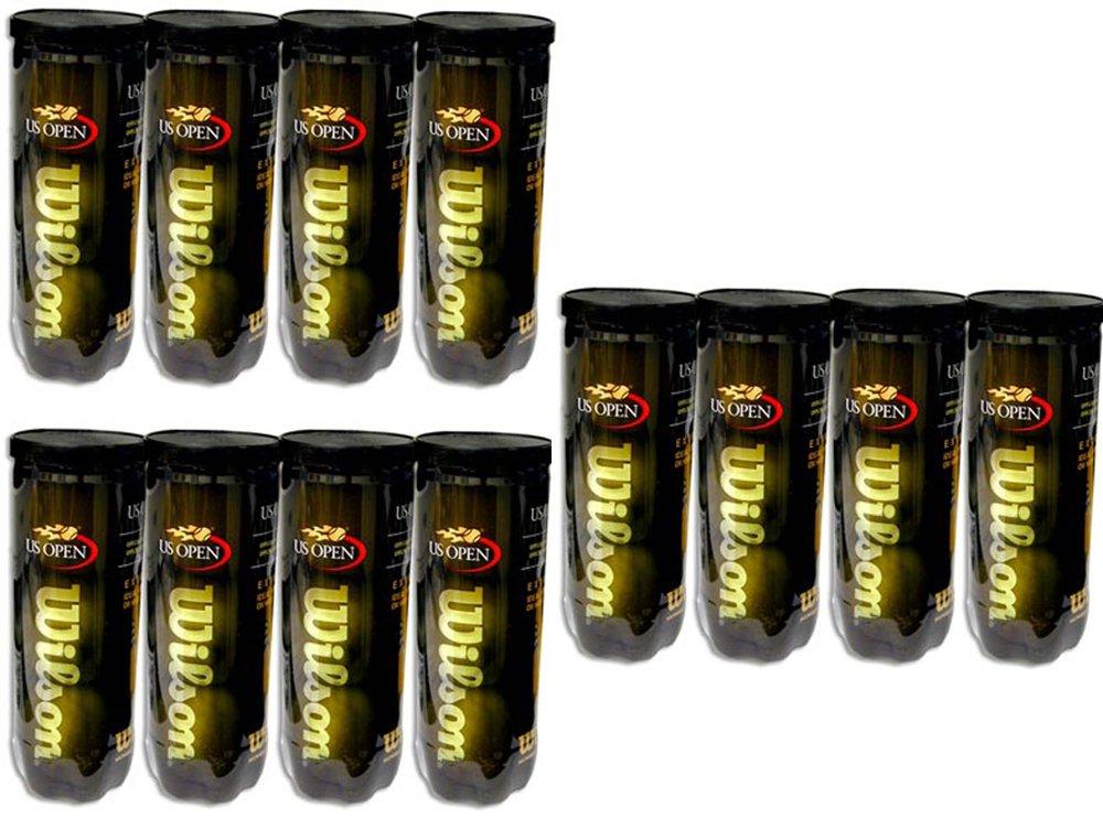 Wilson US Open Extra Duty Tennis Balls - (1 Dozen Cans)